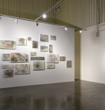 Installation view of 'But Still Tomorrow Builds into My Face'