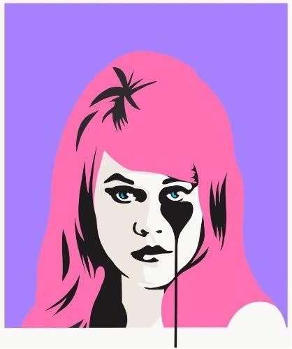 Jane Fonda - Bubblegum Pink, 2017