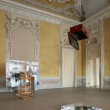 An image containing an installation view of an exhibition by Giulio Paolini