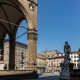 """Giuseppe Penone, """"Abete,"""" Piazza della Signoria"""