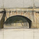 Christo and Jeanne-Claude, The Pont Neuf, Wrapped (Project for Paris), 1983
