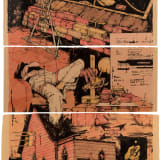 William Buchina, Scenery in Red #6, 2020