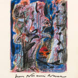 André Masson Untitled, 1968 Crayon and felt marker on paper, 10 5/8 x 8 1/4 inches