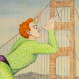 Artwork thumbnail: Jim Shaw, The Golden Gate, 2020