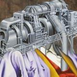 Artwork thumbnail: Jim Shaw, Obese Machine Man, 2020