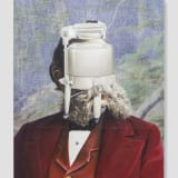 Artwork thumbnail: Jim Shaw, Official Portrait (Washing Machine), 2019