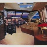 Artwork thumbnail: Dexter Dalwood, Jackie's cabin on the Christina O, 1999
