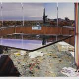 Artwork thumbnail: Dexter Dalwood, Captain Beefheart's Desert Trailer, 2001