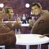 Artwork thumbnail: Jim Shaw, Deutsche Bank Wealth Management Lounge, 2020