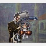 Artwork thumbnail: Jim Shaw, Man-Machine (Quiet), 2018