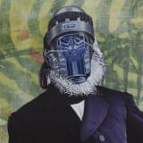 Artwork thumbnail: Jim Shaw, Official Portrait #5 (Jungle Cooper), 2018