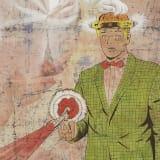 Artwork thumbnail: Jim Shaw, The Red Shoes, 2020