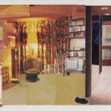 Artwork thumbnail: Dexter Dalwood, Patty Hearst's Apartment, 1999