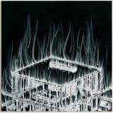 Artwork thumbnail: Gary Simmons, Top House Fire, 2007