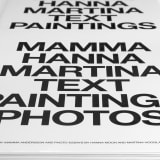 Mamma Hanna Martina Text Paintings Photos