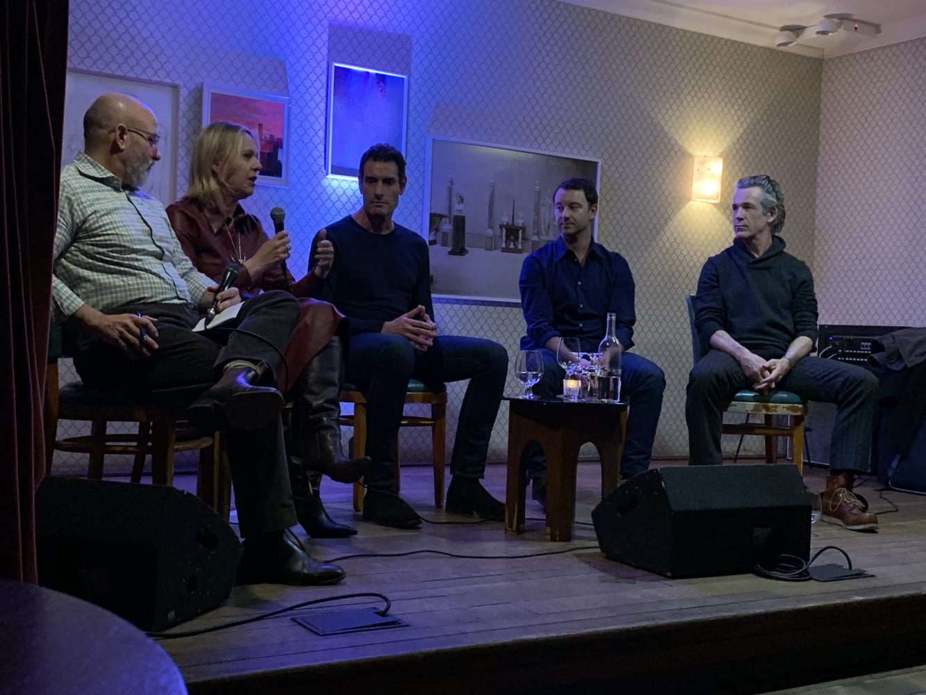 Art & Tech panel discussion, Ludlow House NYC