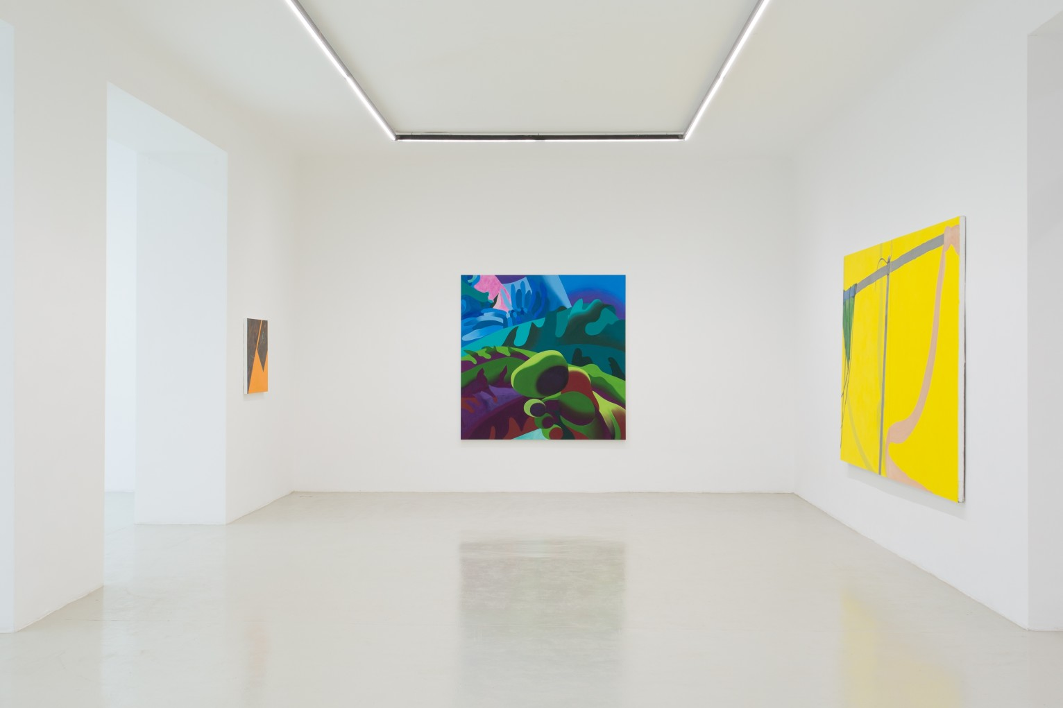 Delphine Hennelly   Kathryn Kerr   Leigh Ruple   Nathalie Shepherd   Faye Wei Wei The Picture Is A Forest 24 May - 29 June 2019