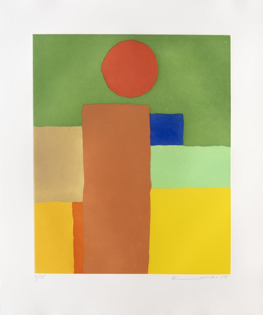 <span class=&#34;artist&#34;><strong>Etel Adnan</strong></span>, <span class=&#34;title&#34;><em>Equilibre</em>, 2017</span>