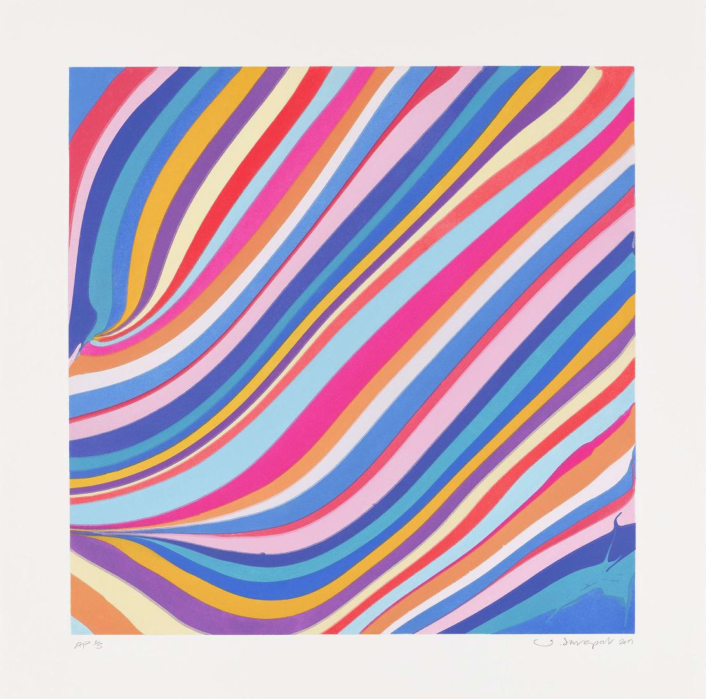"<span class=""artist""><strong>Ian Davenport</strong></span>, <span class=""title""><em>Morning</em>, 2019</span>"
