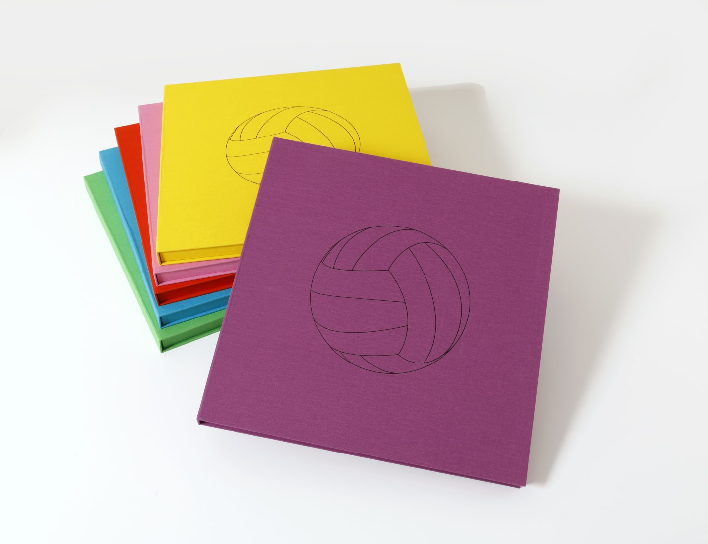 <p>A selection of accompanying portfolio boxes</p>