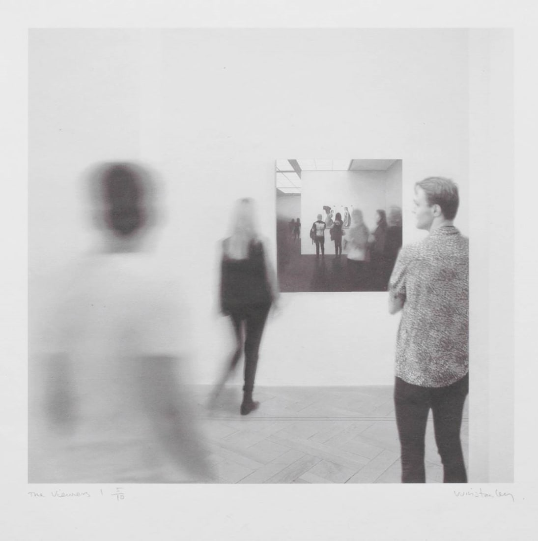 <p>Paul Winstanley; <em>The Viewers 1</em>, 2020.<br />Pigment print on Kizuki Kozo paper. Paper  66 x 62 cm, image 39 x 41.5 cm. Edition of 10.</p>