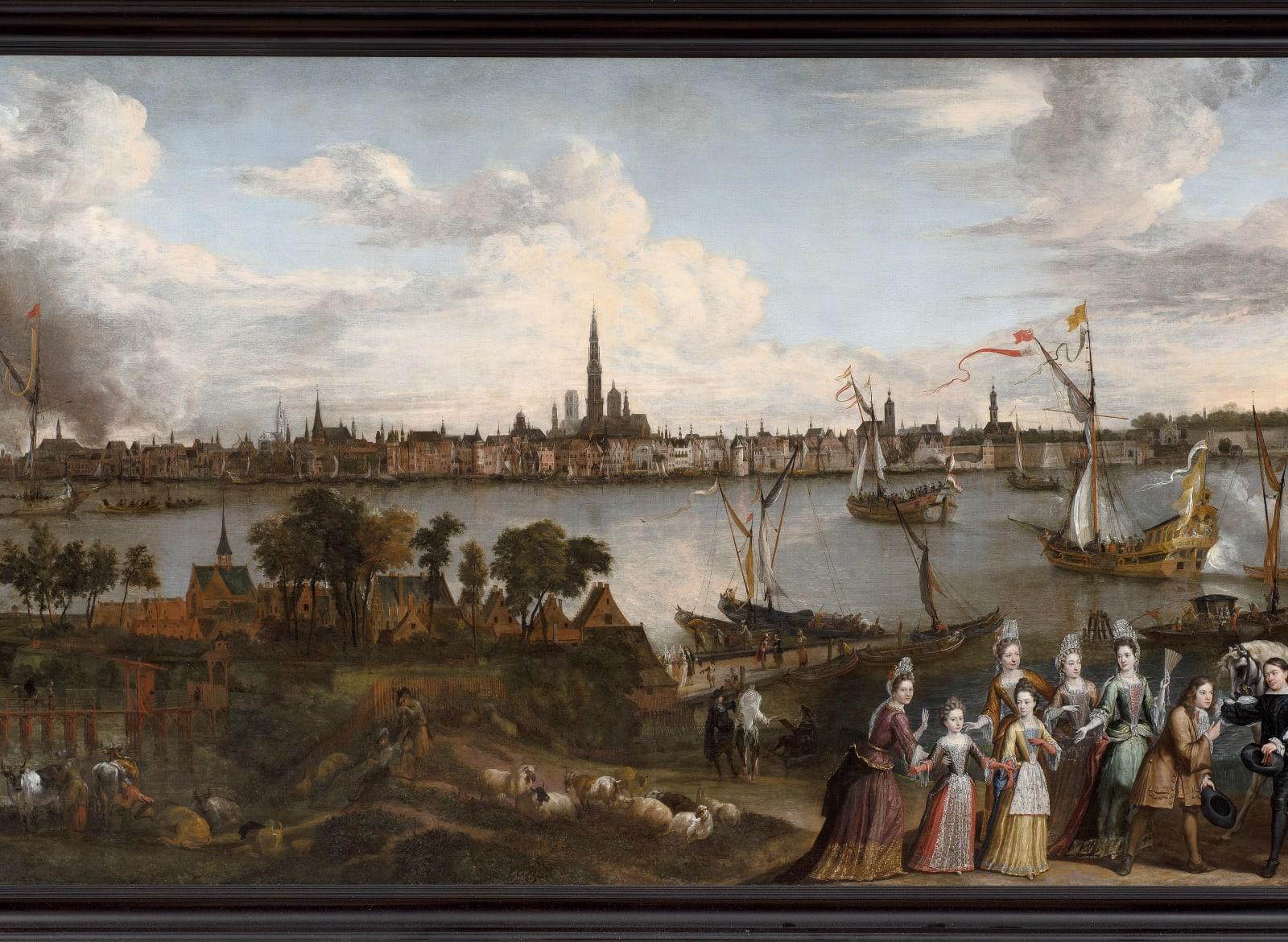 HENDRICK VAN MINDERHOUT (Rotterdam, 1632 - Antwerp, 1696) & JAN VAN HELMONT (Antwerp, 1650 - Brussels, 1714)