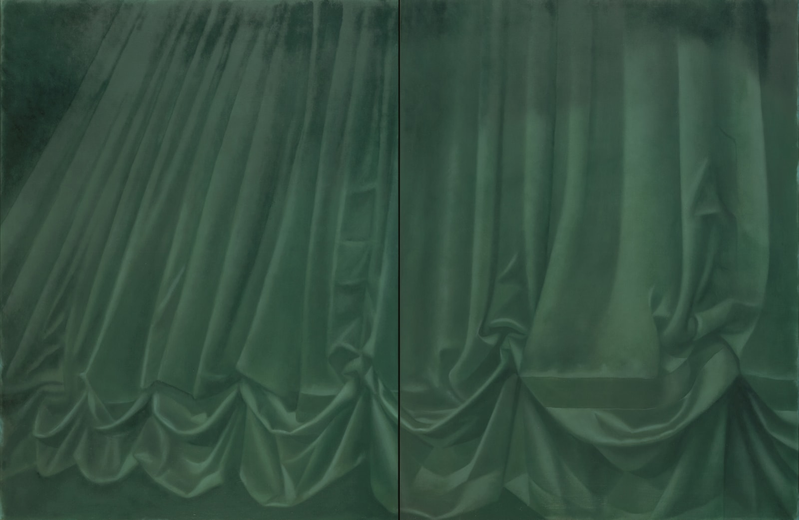 Louise Giovanelli, Dyer, 2020, 170 x 260cm (diptych)