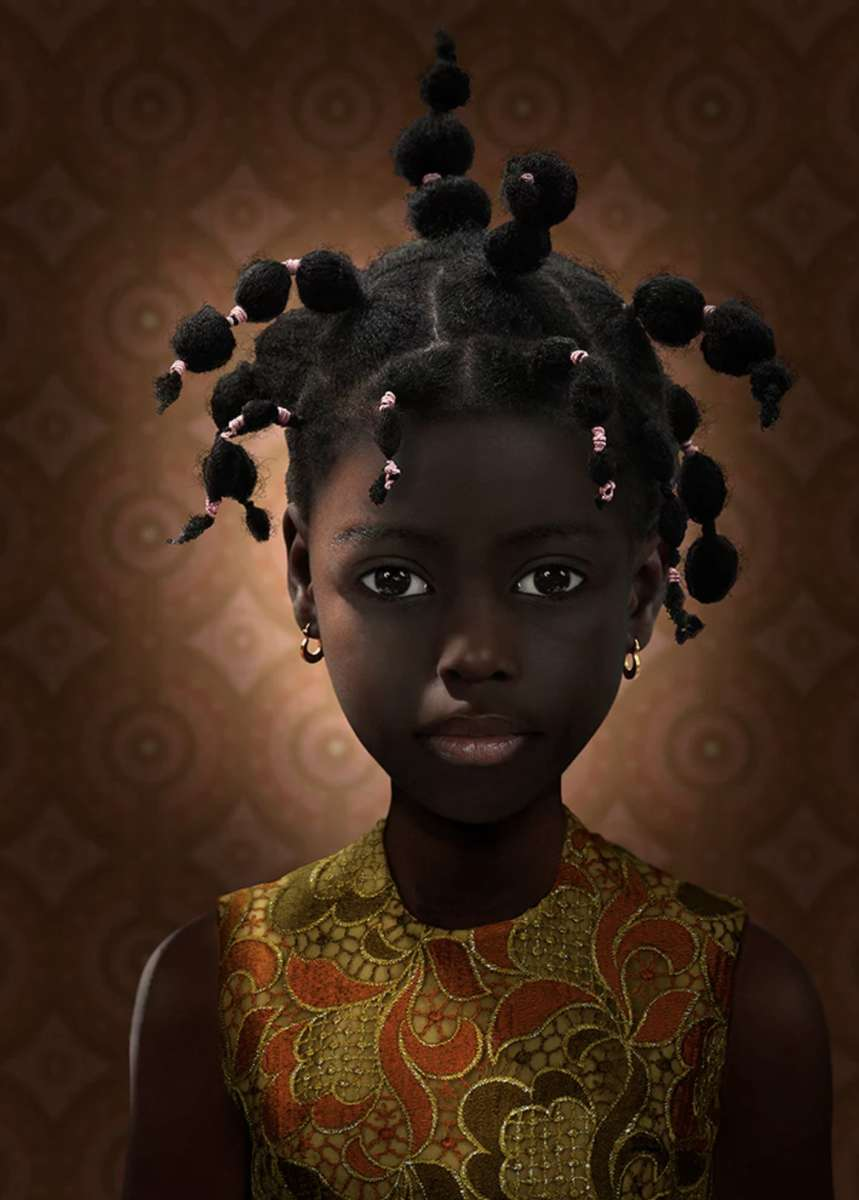 Lush Portraits by Ruud Van Empel- in pictures The Guardian: Culture