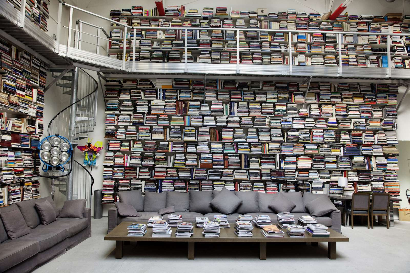 10 Famous Book Hoarders Karl Lagerfeld has more books than you