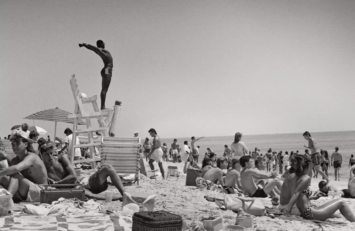 'Baywatch' Gets Its Game Face On Joseph Szabo photographed the lifeguards at Jones Beach for 25 years. He saw things that most of us never will.