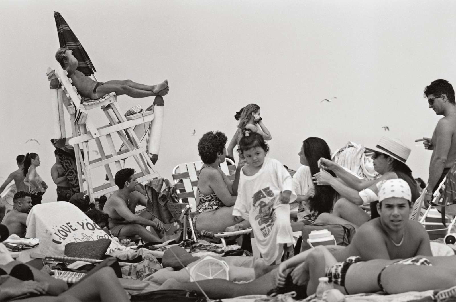 Three Decades of Lifeguards at New York's Jones Beach