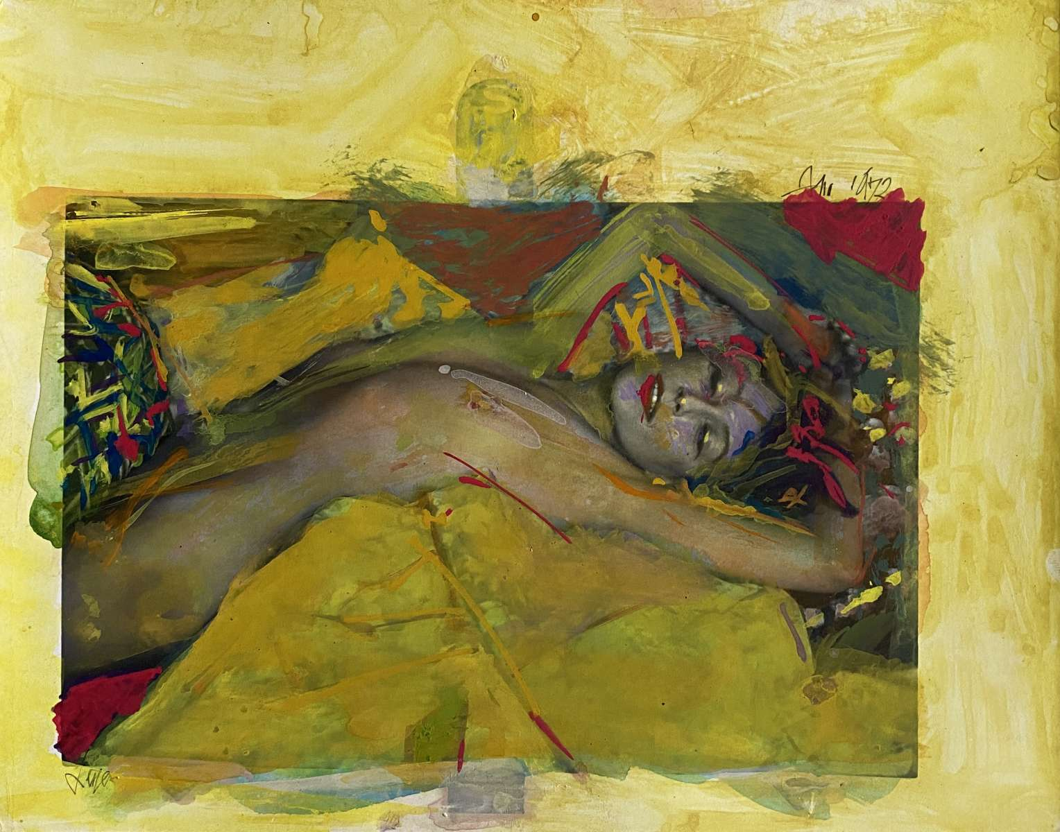 Exhibition Review: Saul Leiter's Painted Nudes
