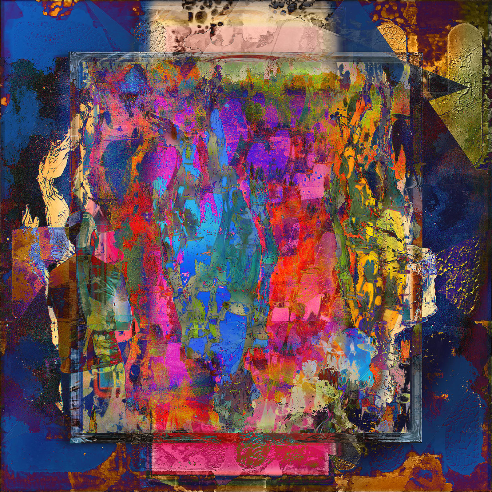 Jens-Christian Wittig, Framed Color World I, 2019