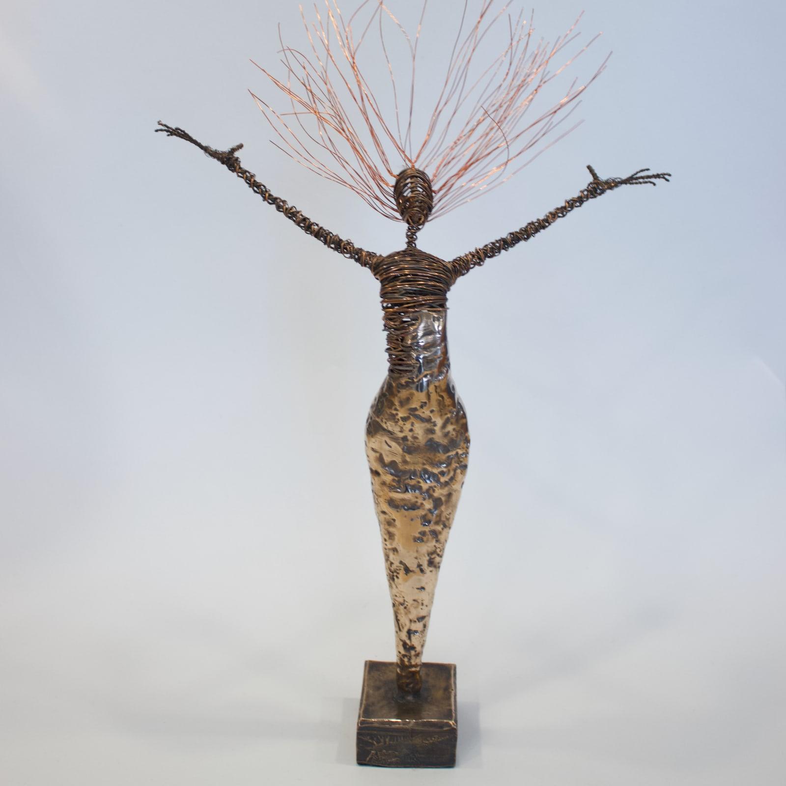 Rachel Ducker, Bronze Arched Back, 2019