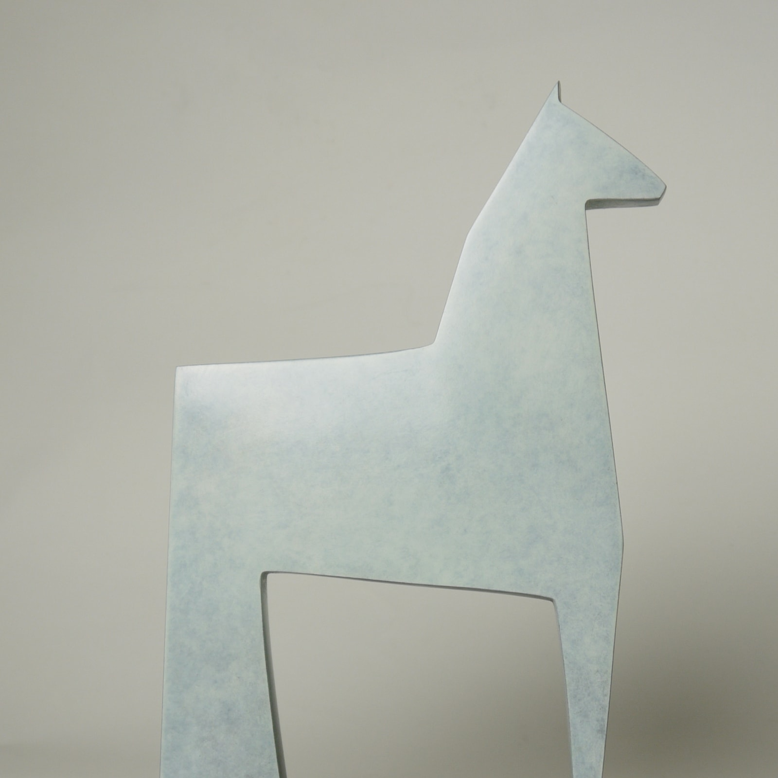 Stephen Page, White Horse, 2018