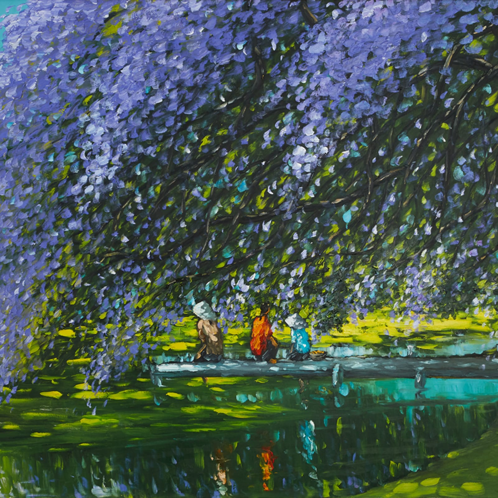 Le Thanh Son, At The River, 2018