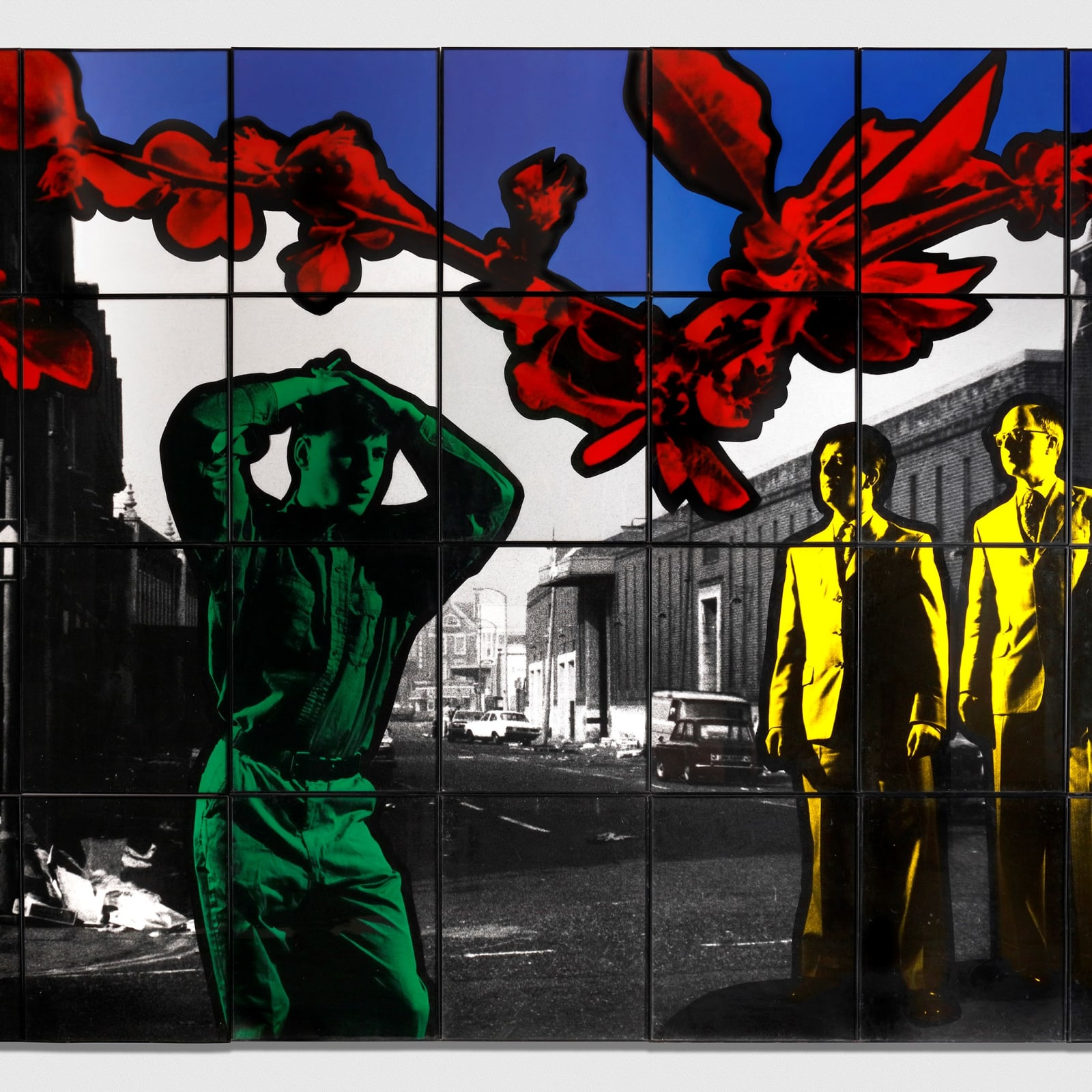 Gilbert & George, Street Meet, 1982