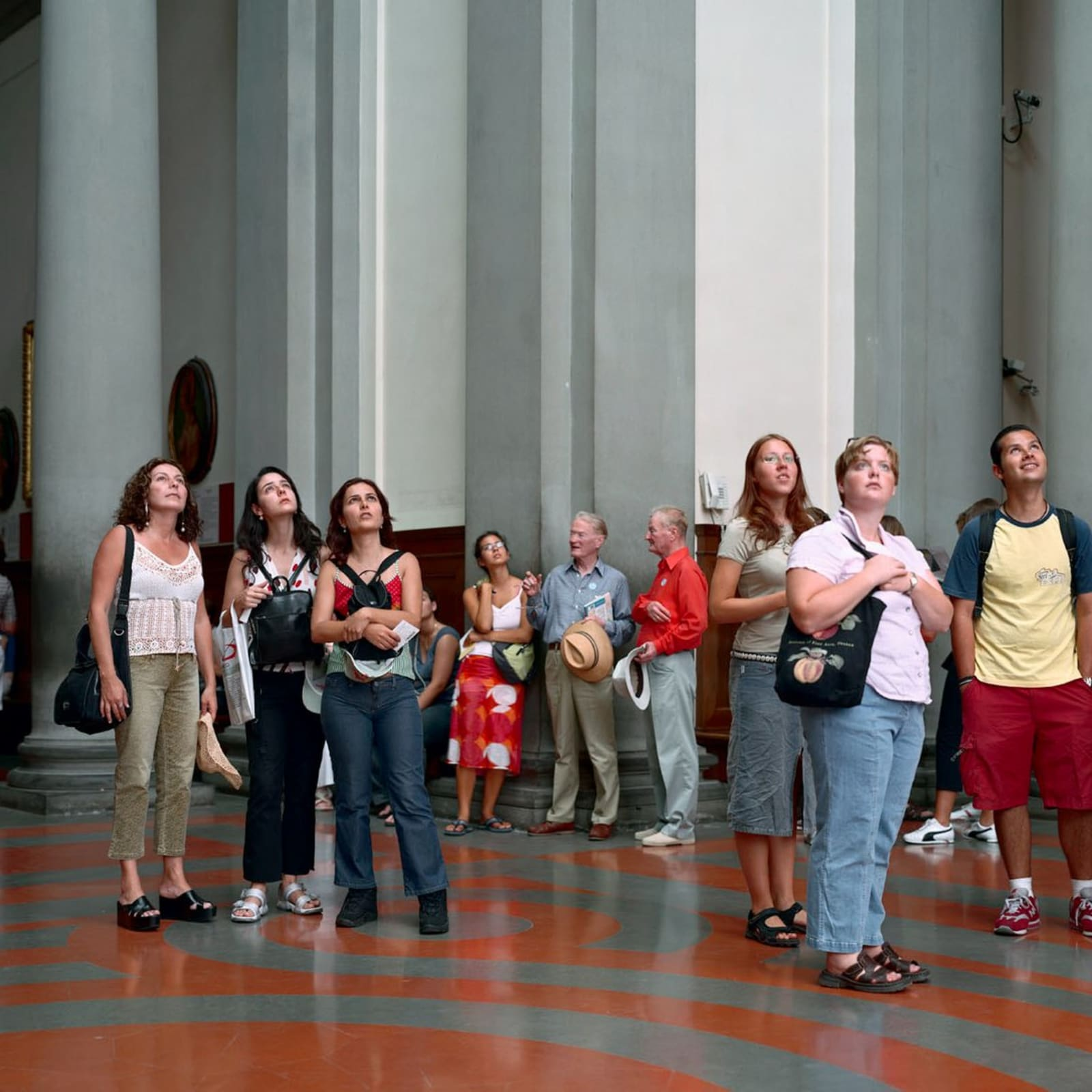 Thomas Struth, Audience 4, Florence, 2004
