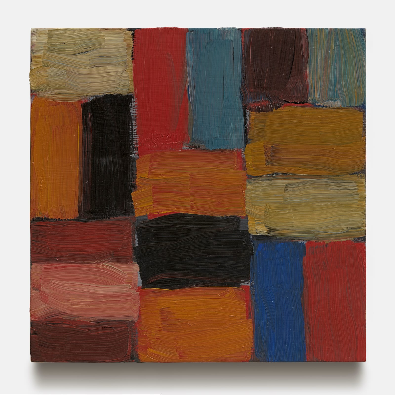 Sean Scully, Wall Orange, 2016