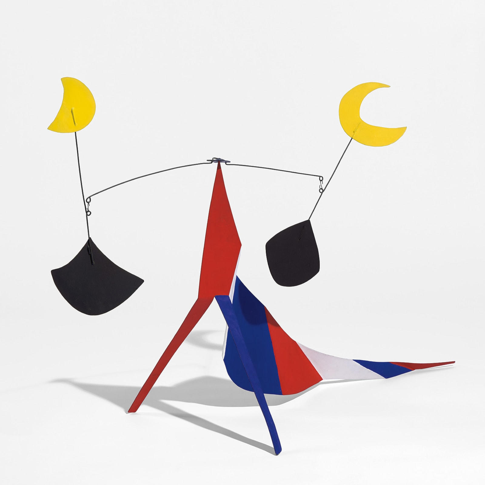 Alexander Calder, Two Moons, 1969