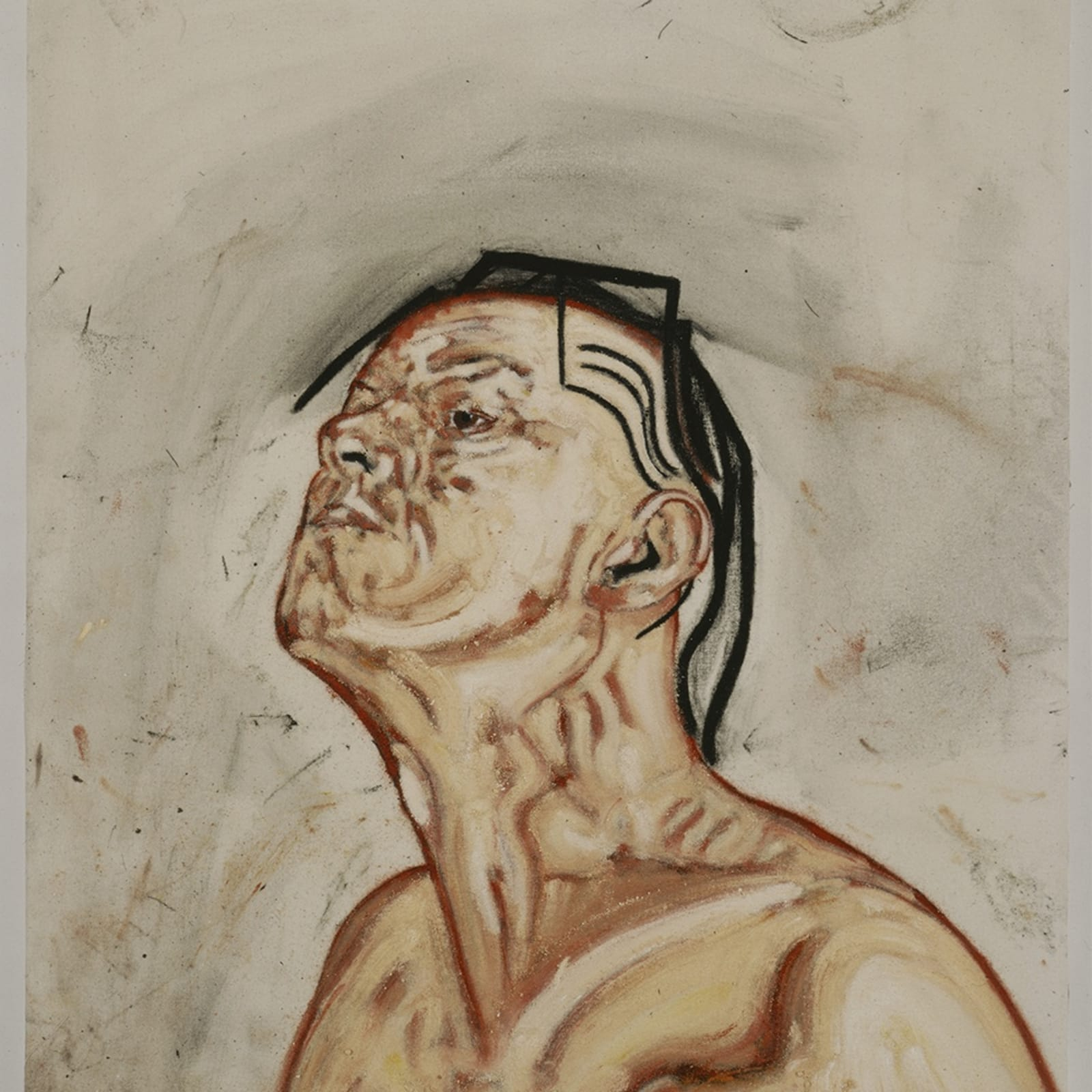 Tony Bevan, Self Portrait (PC923), 1992