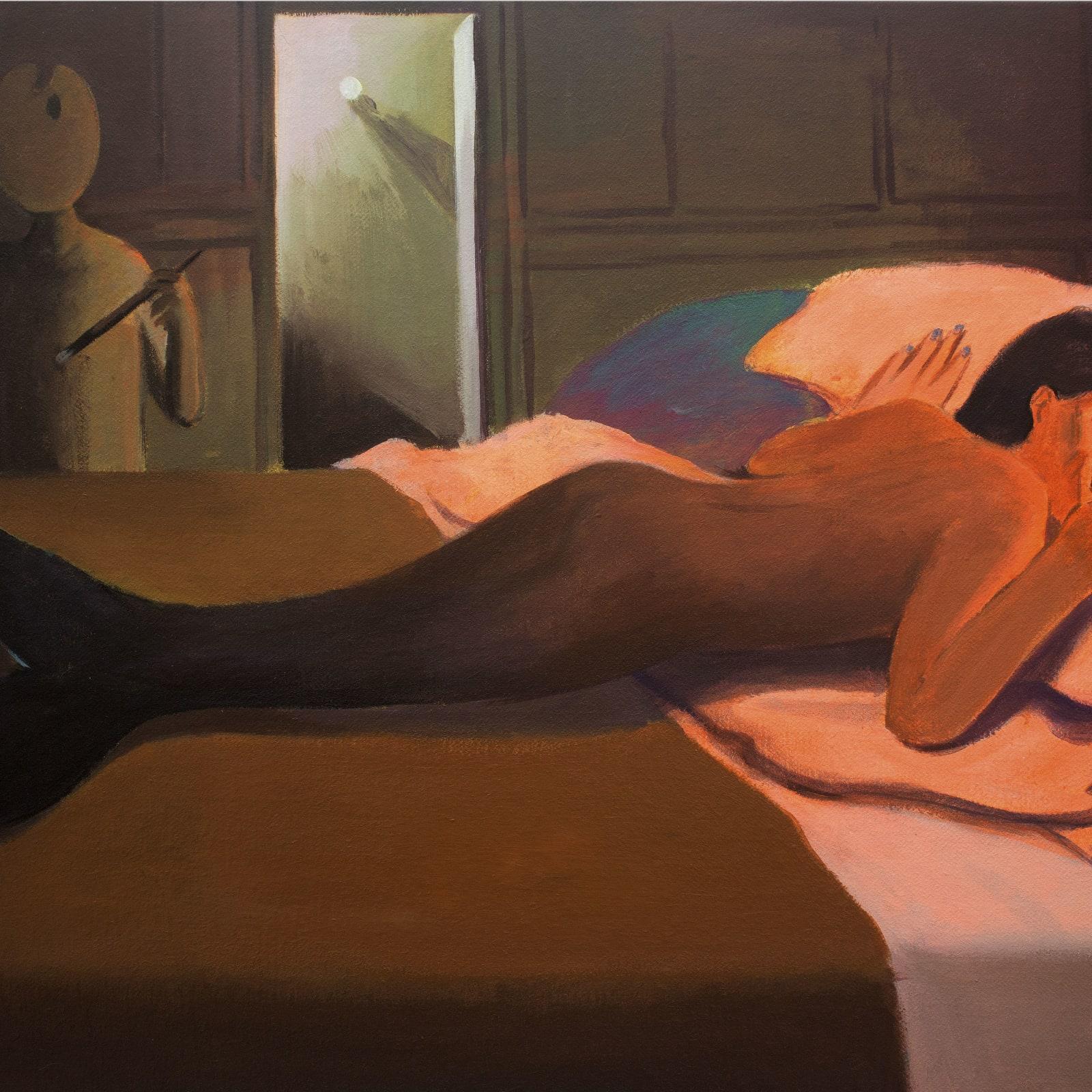 Cai Zebin 蔡泽滨, The Painter's Gaze 画家的凝视, 2019