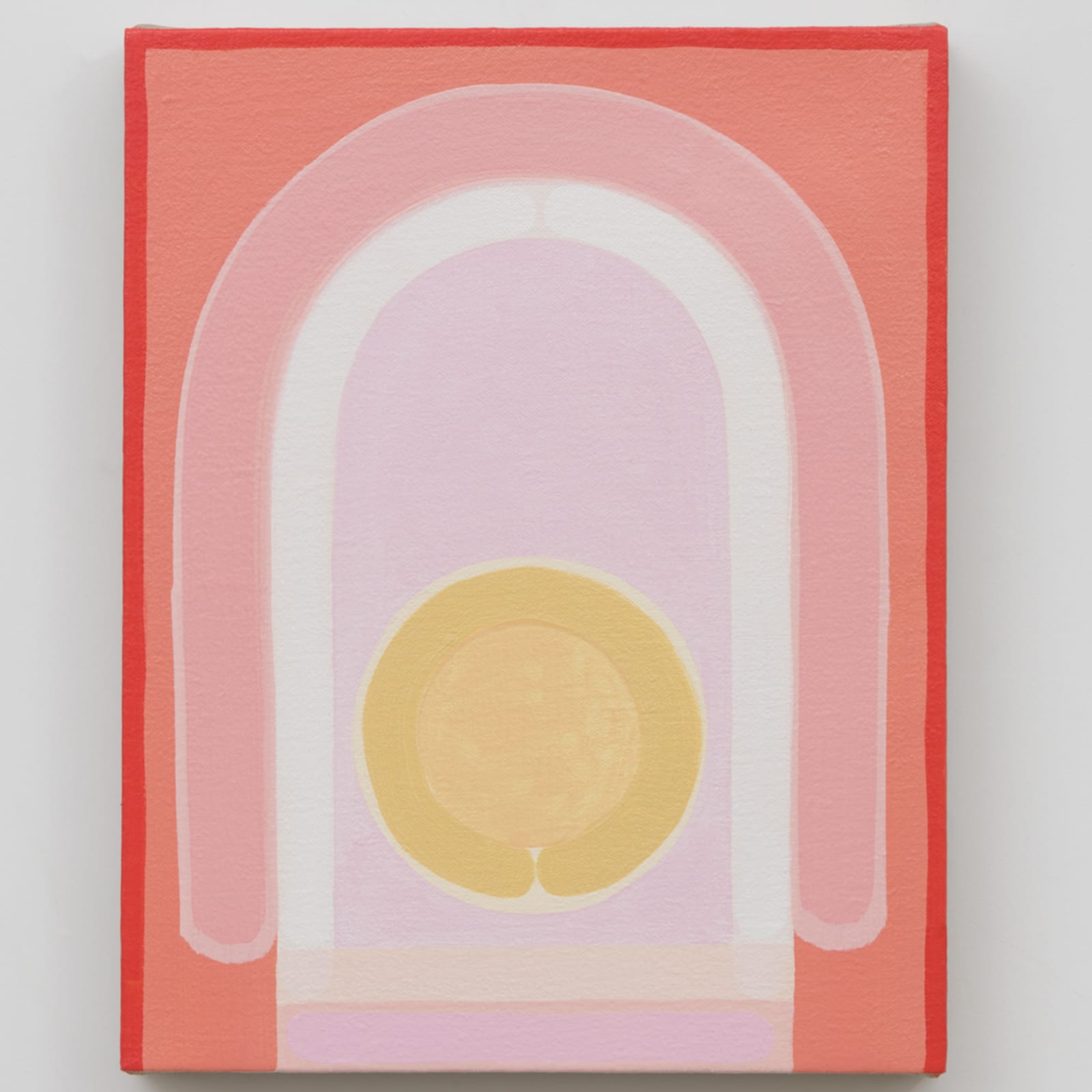 Lily Stockman  Pontormo's Rainbow, 2018  Oil on linen  14 x 11 inches