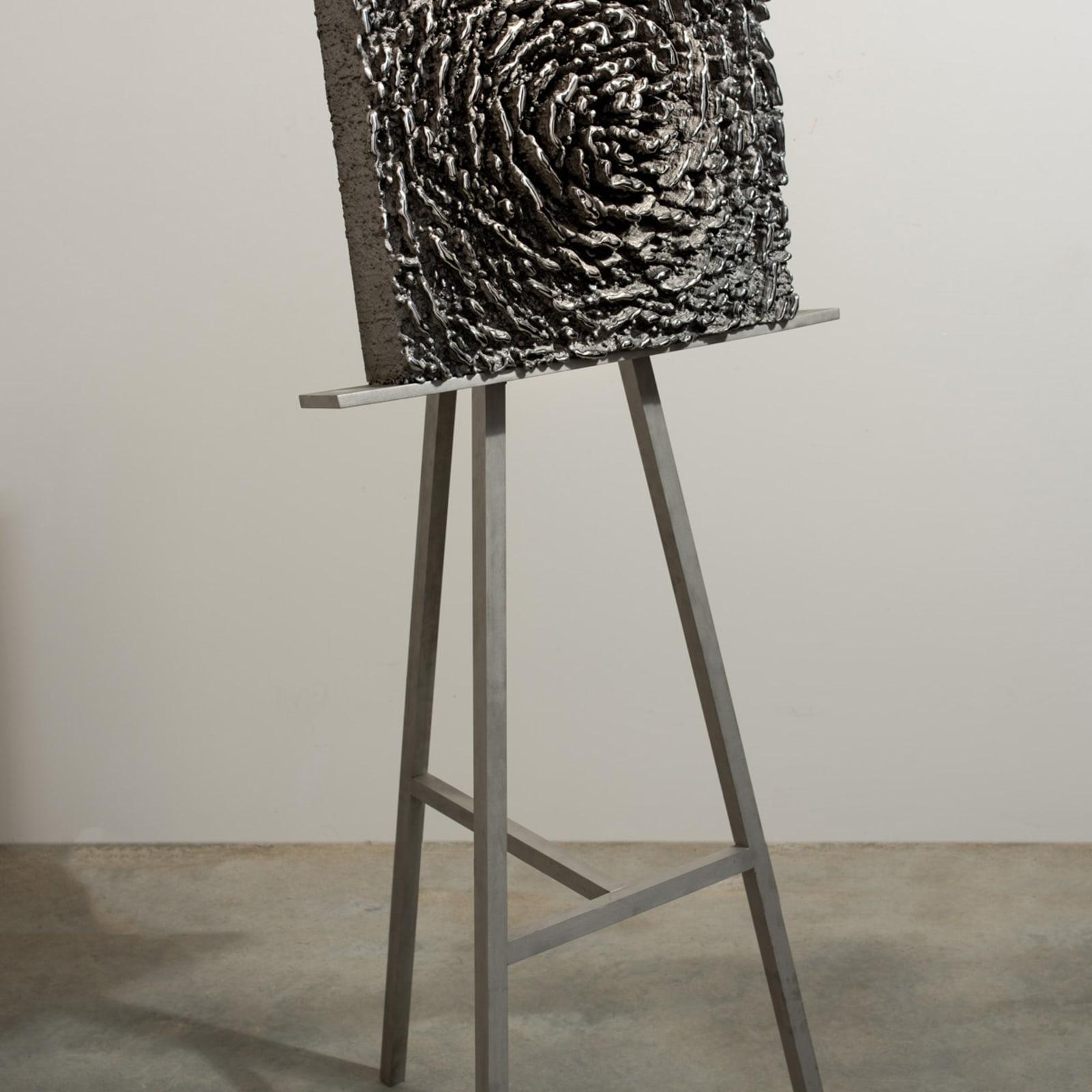 Martin Kline, Vanitas (Stainless Bloom on Easel)
