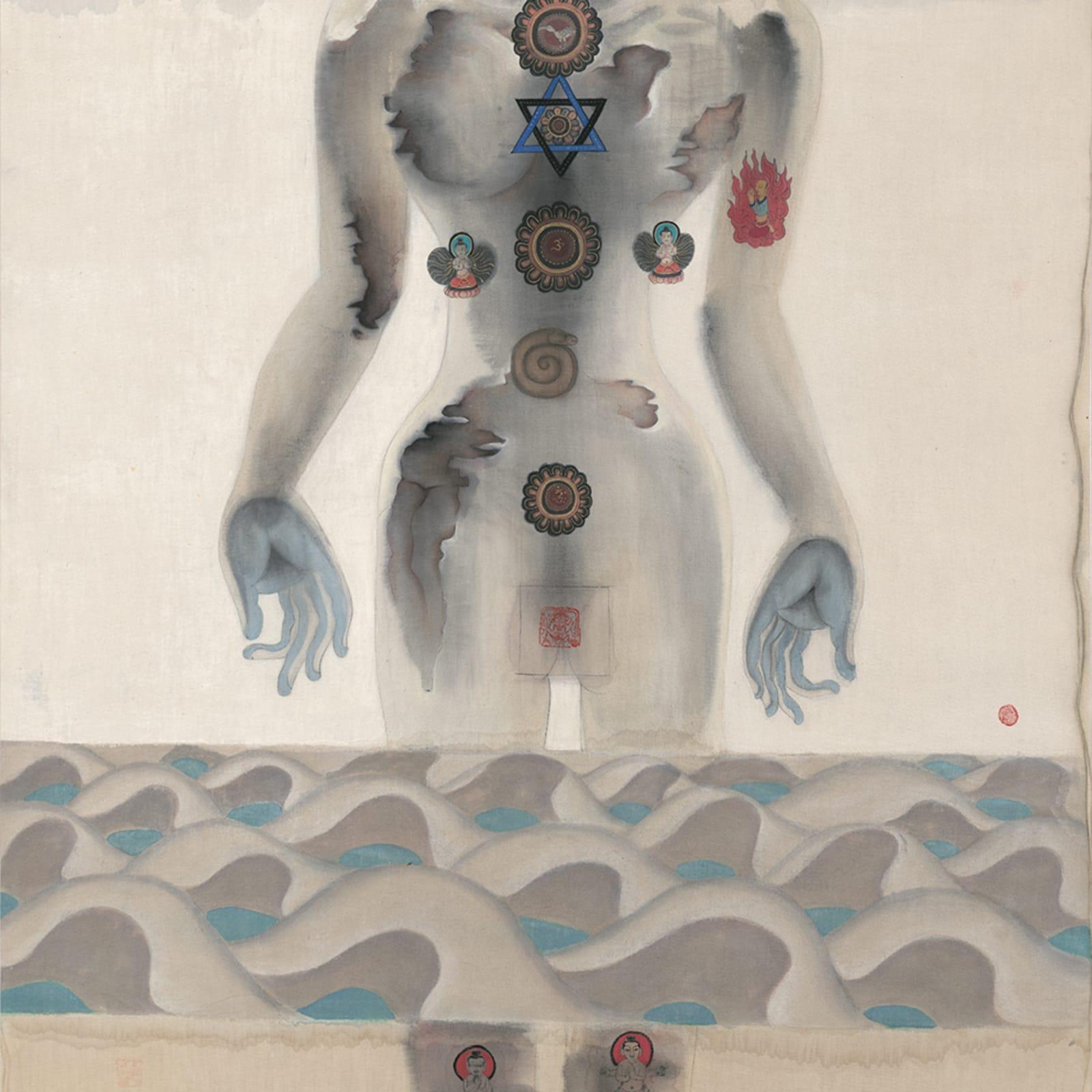 Li Jin 李津, Lhasa River Heart Sutra 拉萨河心经, 1992