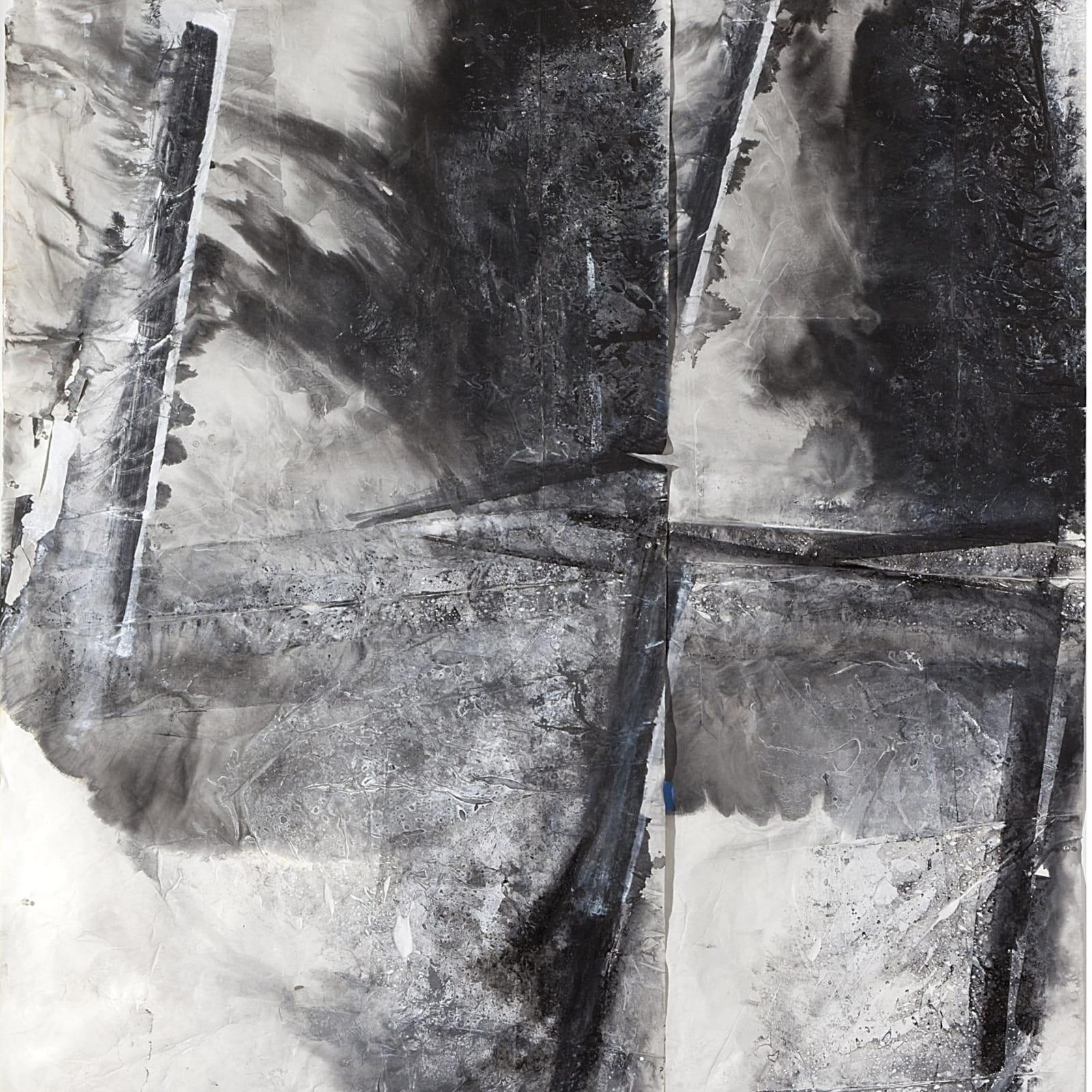 Zheng Chongbin 郑重宾, Four Cuts into the Space 空间中的四划, 2015