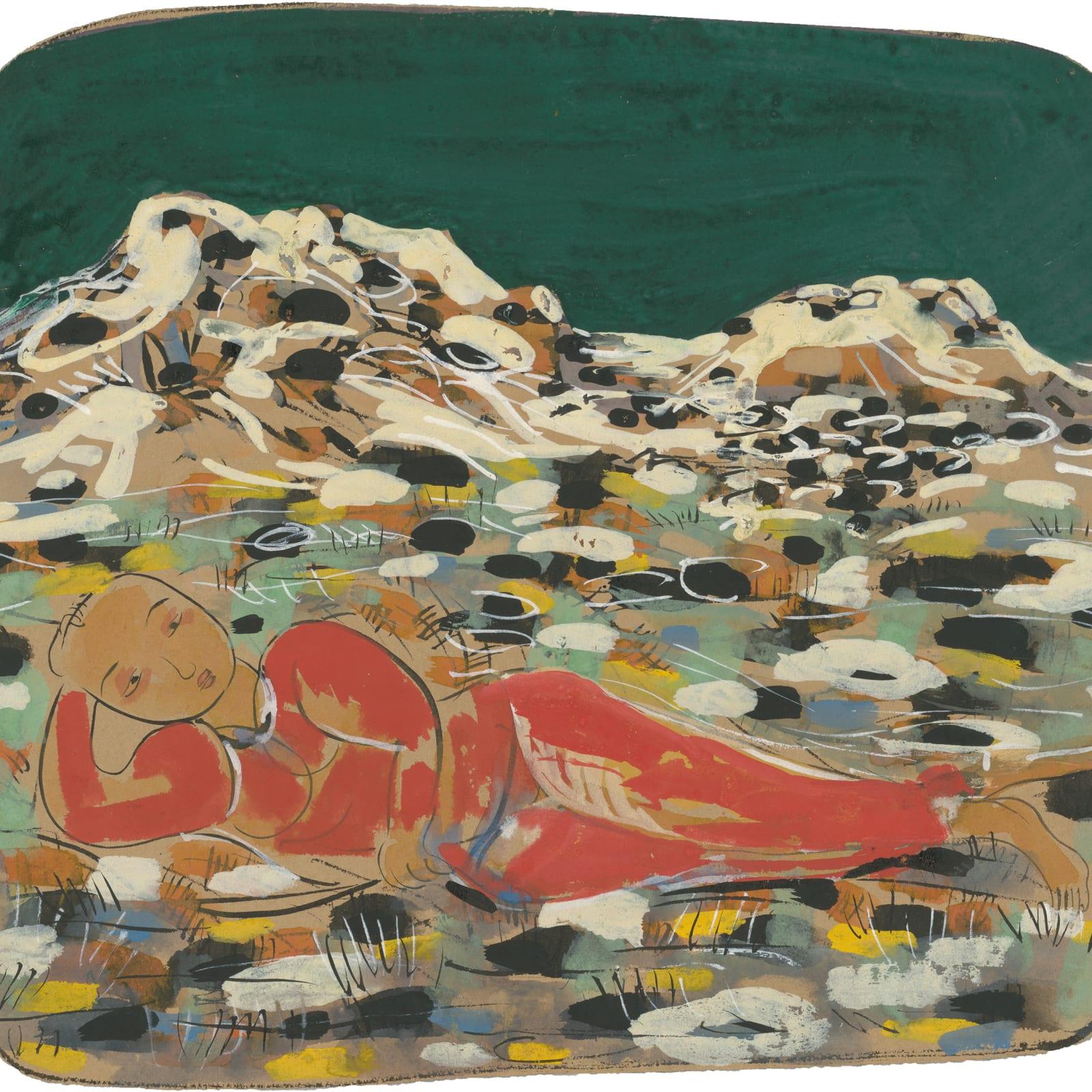 Li Jin 李津, Winter in Lhasa 拉萨的冬天, 1993