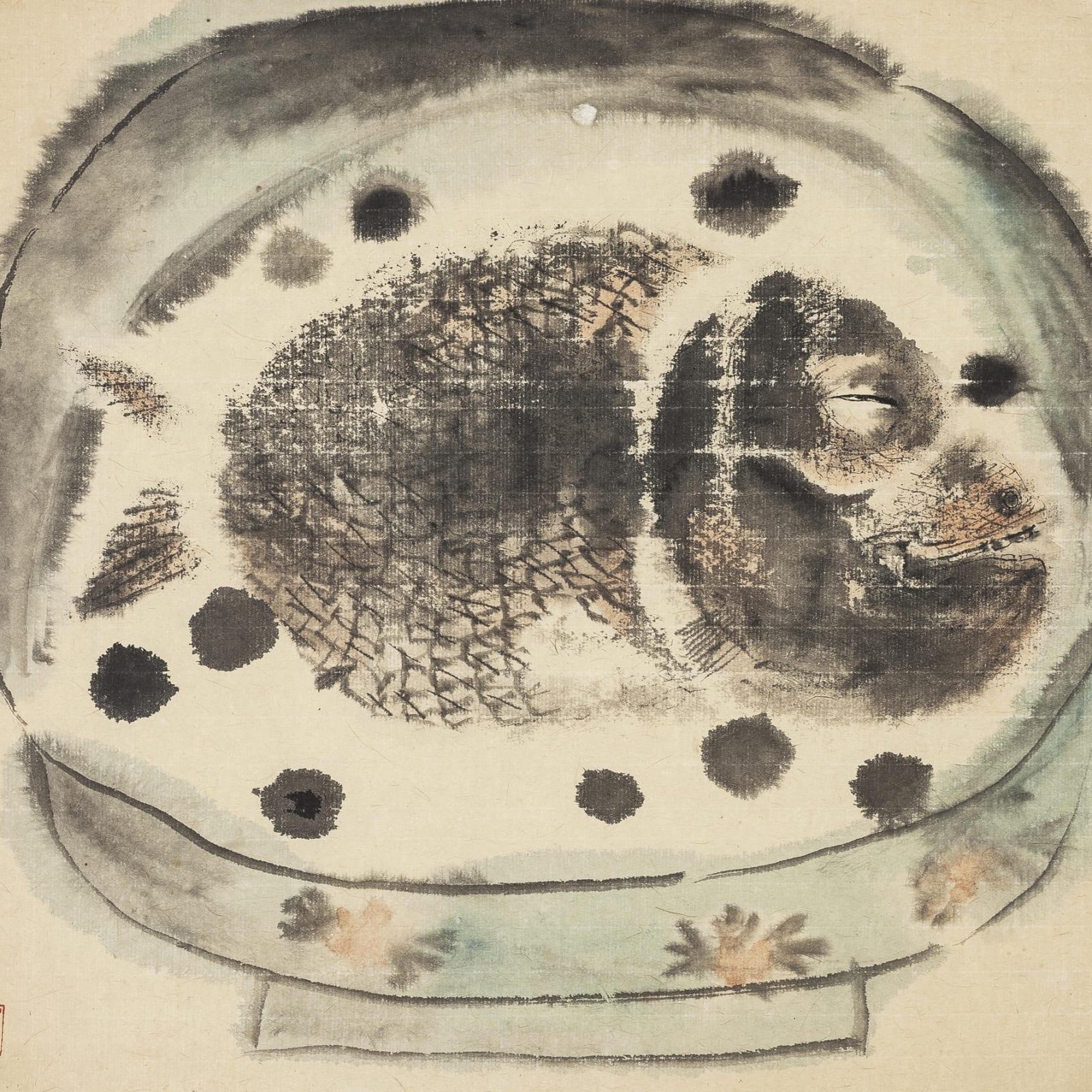 Li Jin 李津, Fish in a Bowl 碗中鱼, 1987