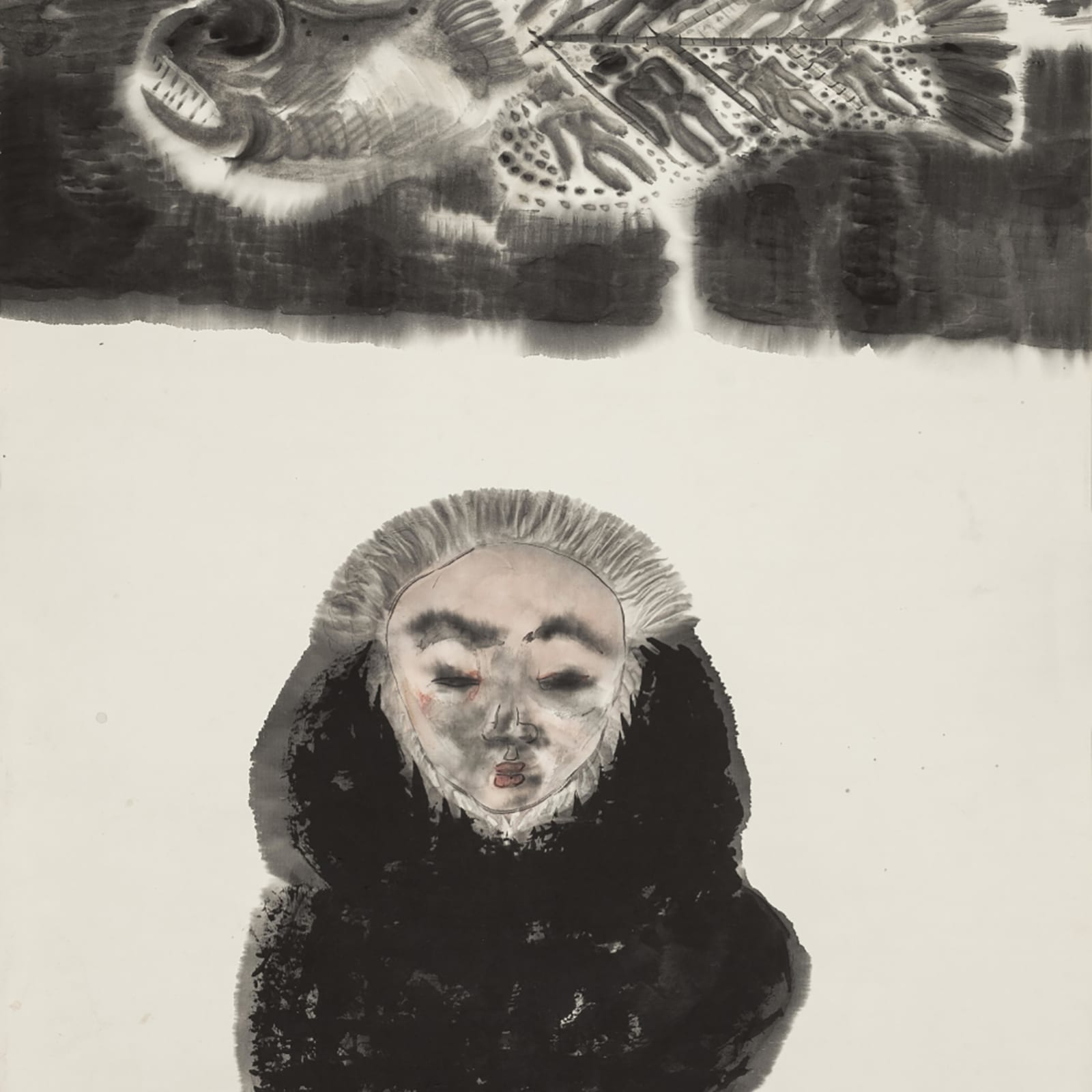 Li Jin 李津, Fish and Man 鱼与人, 1993