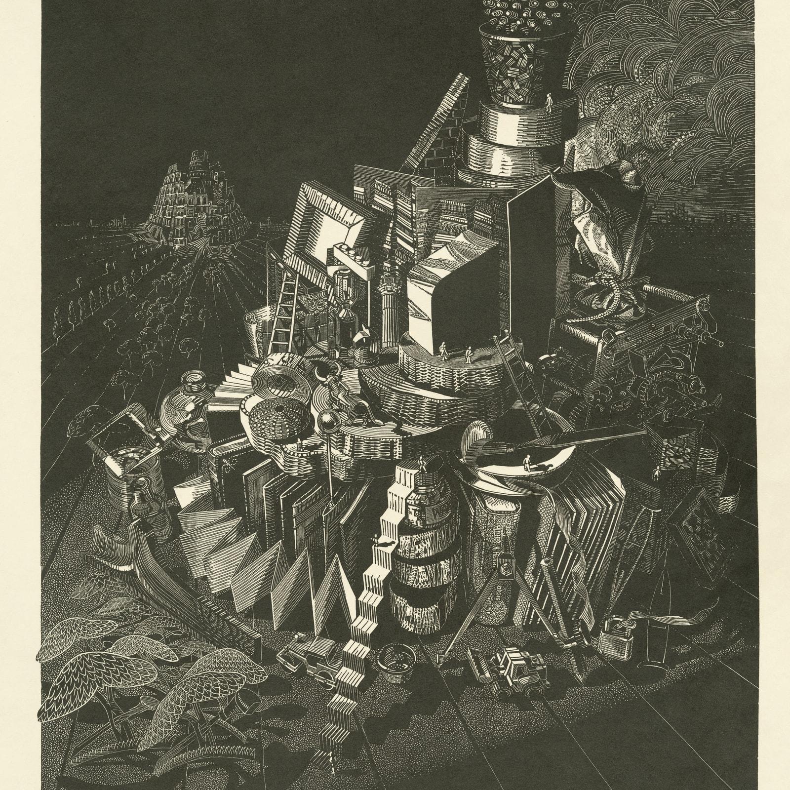 Anne Desmet, Wood Engravers Tower, 2020